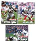 2001 Ultra (1-250) Football Team Set - NEW YORK GIANTS