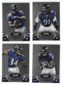 2012 Bowman Sterling 1-100 Football - BALTIMORE RAVENS