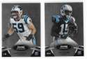 2012 Bowman Sterling 1-100 Football - CAROLINA PANTHERS