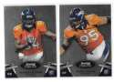2012 Bowman Sterling 1-100 Football - DENVER BRONCOS w/o Osweiler