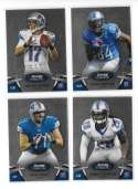 2012 Bowman Sterling 1-100 Football - DETROIT LIONS