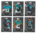 2012 Bowman Sterling 1-100 Football - MIAMI DOLPHINS