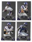2012 Bowman Sterling 1-100 Football - MINNESOTA VIKINGS