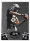 2012 Bowman Sterling 1-100 Football - NEW ORLEANS SAINTS