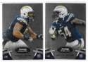 2012 Bowman Sterling 1-100 Football - SAN DIEGO CHARGERS