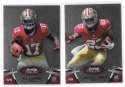 2012 Bowman Sterling 1-100 Football - SAN FRANCISCO 49ERS