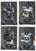 2012 Bowman Sterling 1-100 Football - SEATTLE SEAHAWKS