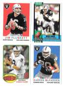 2013 Topps Archives (1-240) Football Team Set - OAKLAND RAIDERS
