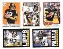 2013 Topps Archives (1-240) Football Team Set - PITTSBURGH STEELERS