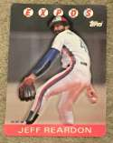 1986 Topps 3-D - MONTREAL EXPOS