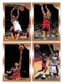 1998-99 Topps Basketball Team Set - Atlanta Hawks