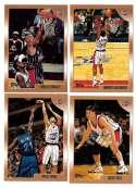 1998-99 Topps Basketball Team Set - Houston Rockets