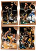 1998-99 Topps Basketball Team Set - Indiana Pacers