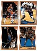 1998-99 Topps Basketball Team Set - New York Knicks