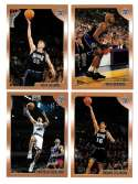 1998-99 Topps Basketball Team Set - Sacramento Kings
