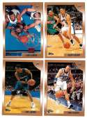 1998-99 Topps Basketball Team Set - Washington Wizards