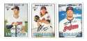 2016 Topps Heritage High (Hi) Numbers (501-725) CLEVELAND INDIANS Team Set