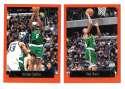 1999-00 Topps Basketball Team Set - Boston Celtics