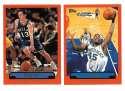 1999-00 Topps Basketball Team Set - Dallas Mavericks