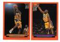 1999-00 Topps Basketball Team Set - Los Angeles Lakers