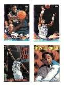 1993-94 Topps Basketball Team Set - Charlotte Hornets