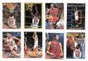 1993-94 Topps Basketball Team Set - Chicago Bulls