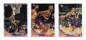 1993-94 Topps Basketball Team Set - Denver Nuggets