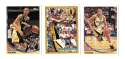 1993-94 Topps Basketball Team Set - Indiana Pacers