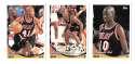 1993-94 Topps Basketball Team Set - Miami Heat
