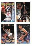 1993-94 Topps Basketball Team Set - New York Knicks