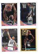 1993-94 Topps Basketball Team Set - San Antonio Spurs