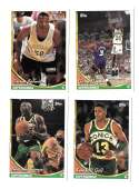 1993-94 Topps Basketball Team Set - Seattle Supersonics
