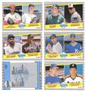 1989 Fleer Glossy Major League Prospect Lot (6 cards)