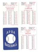 1992 APBA Season w/ EX Players (Some Writing) MONTREAL EXPOS Team Set