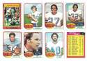 1976 Topps Football Team Set (EX) - BUFFALO BILLS