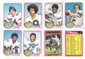 1976 Topps Football Team Set (EX) - DALLAS COWBOYS