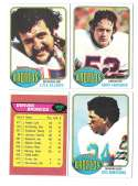1976 Topps Football Team Set (EX) - DENVER BRONCOS
