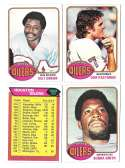 1976 Topps Football Team Set (EX) - HOUSTON OILERS