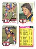 1976 Topps Football Team Set (EX) - LOS ANGELES RAMS