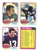 1976 Topps Football Team Set (EX) - NEW YORK GIANTS
