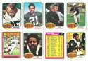 1976 Topps Football Team Set (EX) - OAKLAND RAIDERS
