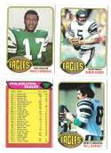 1976 Topps Football Team Set (EX) - PHILADELPHIA EAGLES