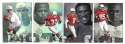 1997 Flair Showcase Row 2 Football - ARIZONA CARDINALS