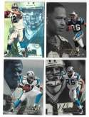 1997 Flair Showcase Row 2 Football - CAROLINA PANTHERS