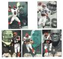 1997 Flair Showcase Row 2 Football - CINCINNATI BENGALS