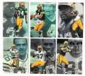 1997 Flair Showcase Row 2 Football - GREEN BAY PACKERS