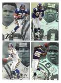 1997 Flair Showcase Row 2 Football - MINNESOTA VIKINGS