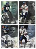 1997 Flair Showcase Row 2 Football - SAN DIEGO CHARGERS