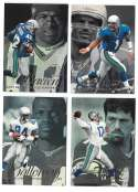 1997 Flair Showcase Row 2 Football - SEATTLE SEAHAWKS