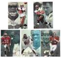 1997 Flair Showcase Row 2 Football - TAMPA BAY BUCCANEERS